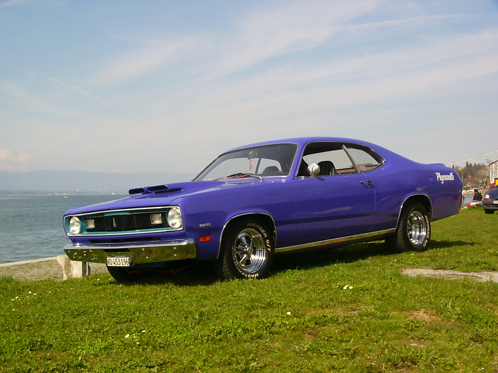Plymouth Duster Sport coupé, 1971, V8 5.2l, 318 Cubic inches