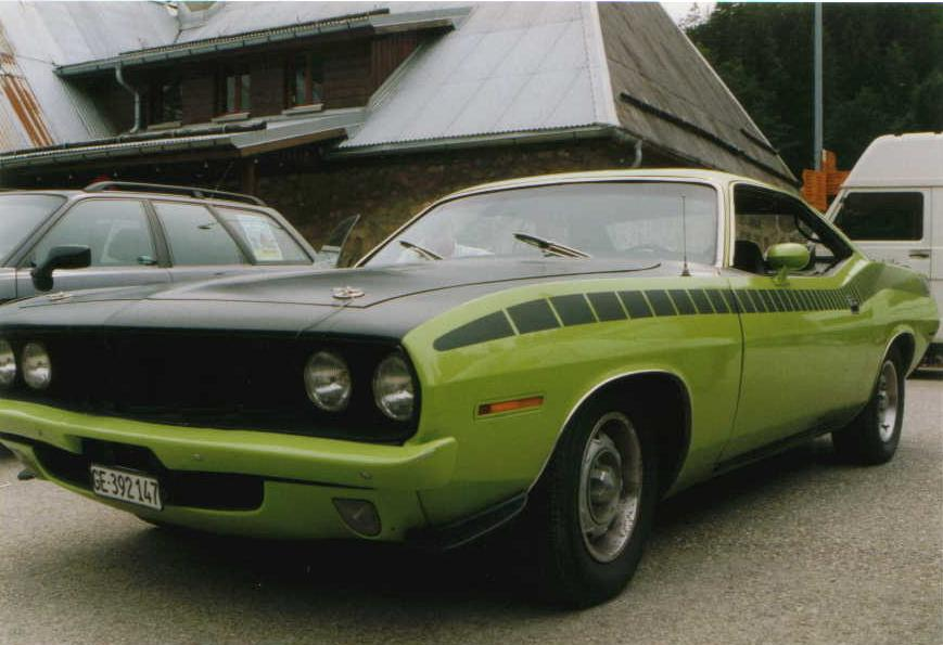 Plymouth Barracuda, 1973, 6 cylindres en ligne 3.9l, 235 Cubic inches